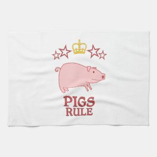 Pigs Rule Kitchen Towels