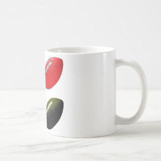 Pigskin 1 coffee mugs