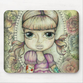 Pigtails and Tattoo's Mouse Mat