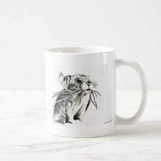 Pika Grazing Basic White Mug