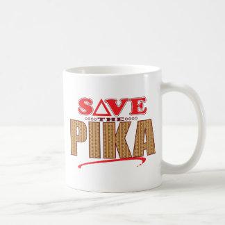 Pika Save Basic White Mug
