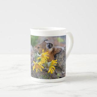 pika bone china mug