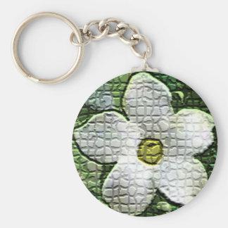 Pikaki mosaic tiles key chain