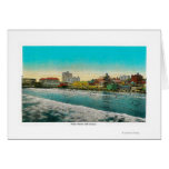 Pike Front and Long Beach, California Card