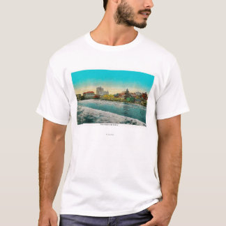 Pike Front and Long Beach, California T-Shirt