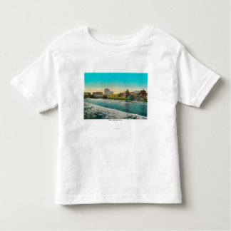 Pike Front and Long Beach, California Tshirt