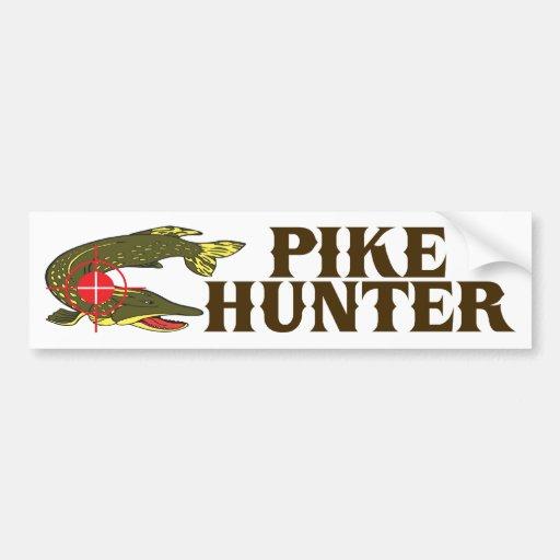 Pike Hunter Bumper Stickers