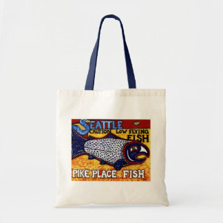 Pike Place Fish Budget Tote Bag