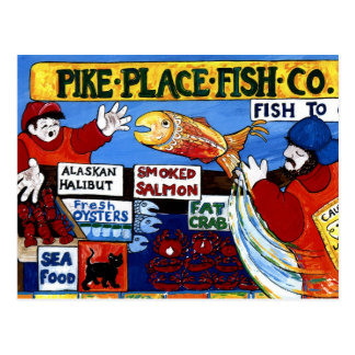 Pike Place Fish Co. Postcard