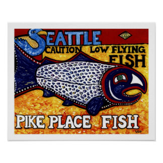 Pike Place Fish Poster