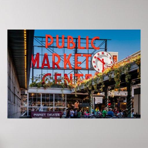 Pike Place Public Market Posters
