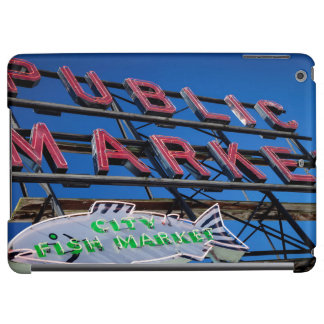 Pike Place Public Market Sign Case For iPad Air