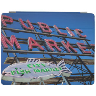 Pike Place Public Market Sign iPad Cover