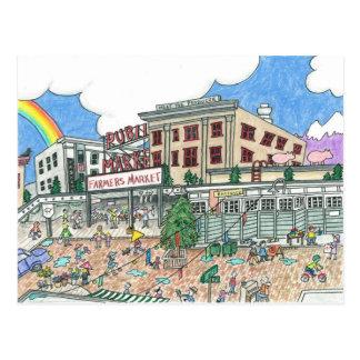Pike s Market Place Seattle Washington Post Card