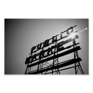 pike street sunburst print