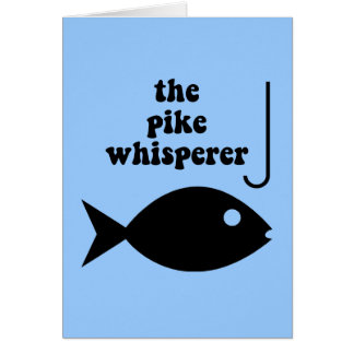pike whisperer fishing card
