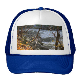 Pikes Creek In The Fall Trucker Hats