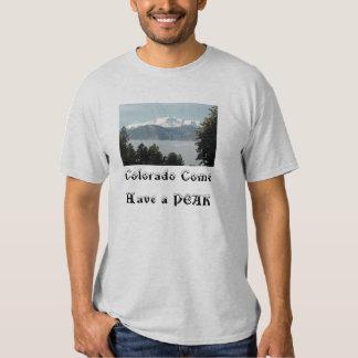 Pikes Peak Adult T T-shirt