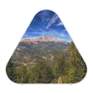 Pikes Peak and Blue Sky