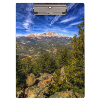 Pikes Peak and Blue Sky Clipboard