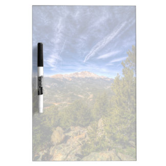 Pikes Peak and Blue Sky Dry Erase Board