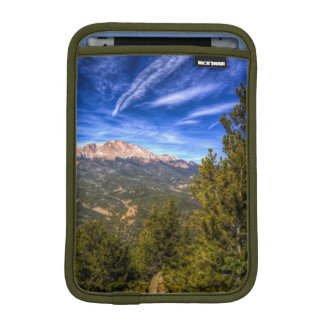 Pikes Peak and Blue Sky iPad Mini Sleeve
