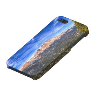 Pikes Peak and Blue Sky iPhone 5 Cover