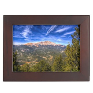 Pikes Peak and Blue Sky Keepsake Box