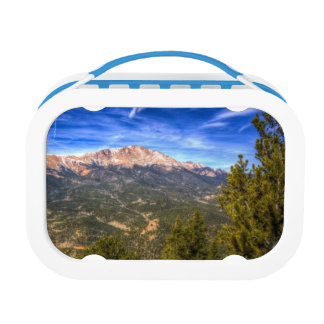 Pikes Peak and Blue Sky Lunch Box