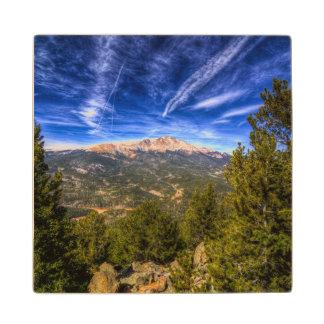 Pikes Peak and Blue Sky Wood Coaster
