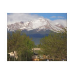 Pikes Peak Canvas Gallery Wrapped Canvas