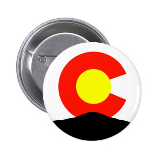 Pikes Peak Colorado 6 Cm Round Badge