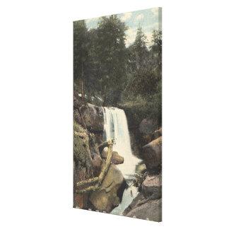 Pikes Peak, Colorado - Minne-Ha-Ha Falls View Canvas Print