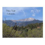 Pikes Peak- Colorado Springs Post Card