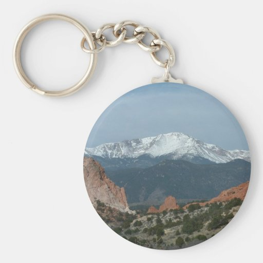 Pikes Peak Keychain