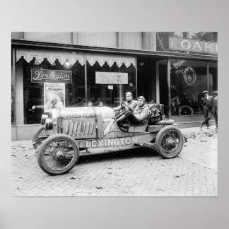Pikes Peak Race Car, 1922. Vintage Photo Poster