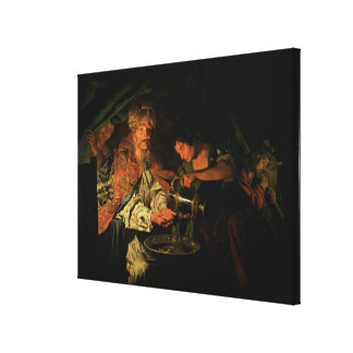 Pilate Washing his Hands (oil on canvas) Gallery Wrap Canvas