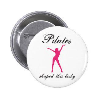 pilates pinback buttons