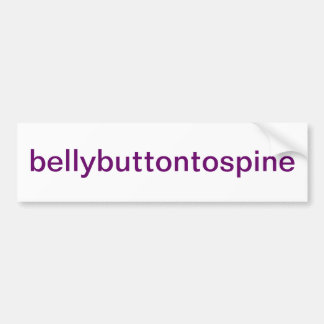 Pilates Bumper Sticker