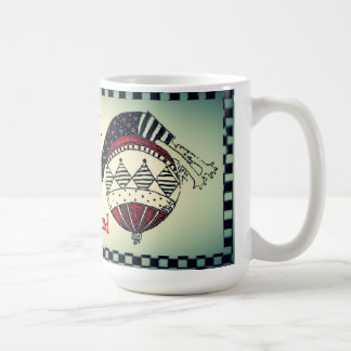 Pilates Custom Holiday(happy healthy and balanced) Coffee Mug