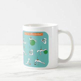 pilates for coffee lovers basic white mug