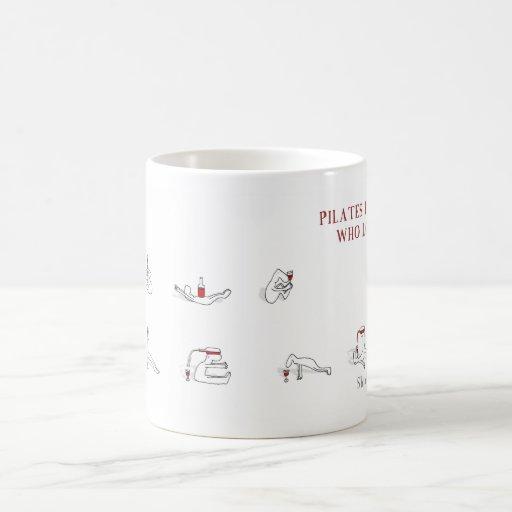 Pilates for people who love wine Harold's Planet Mug