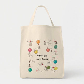Pilates for wine lovers bag