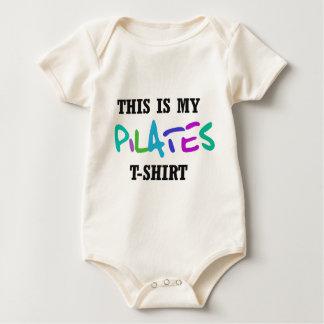 Pilates Funny Design! Baby Bodysuit