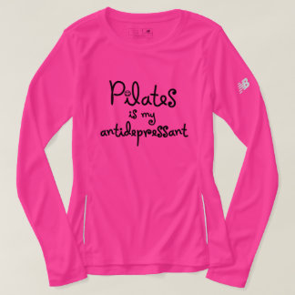 Pilates Is My Antidepressant - Long Sleeve Tee