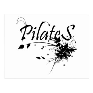 Pilates Method fan! Pilates Art Postcard