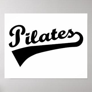 Pilates Poster
