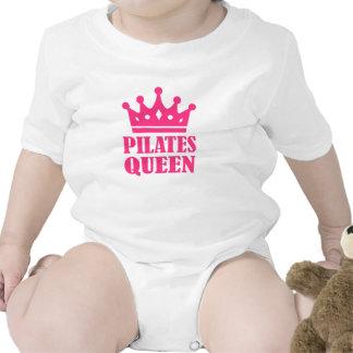 Pilates queen crown baby creeper