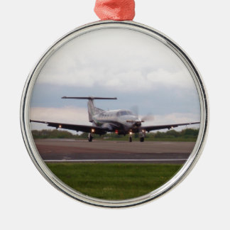 Pilatus PC 12 Christmas Ornament