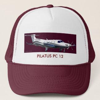 Pilatus PC-12 Portrait, PILATUS PC 12 Trucker Hat